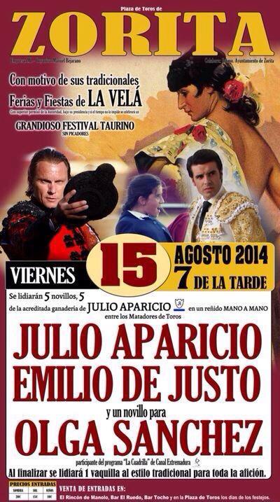 Emilio de Justo sigue cosechando éxitos